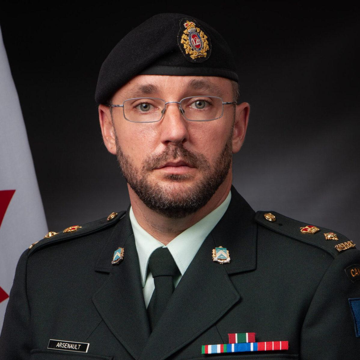 Lieutenant-colonel Arsenault